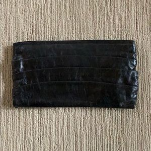 Hobo Large Leather Clutch